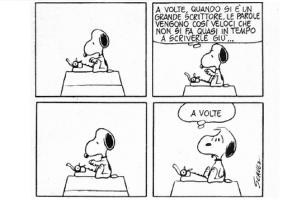 snoopy_scrittore