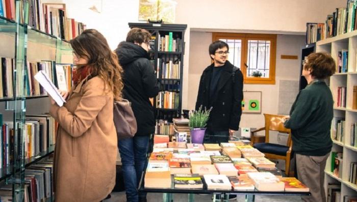 La libreria dove i libri non si comprano