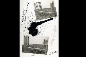 Luca Patella, Dem&Duch Dis-Enameled!, 1986, collage, Galleria civica di Modena